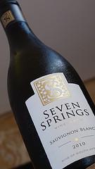 Seven Springs Sauvignon Blanc 2010