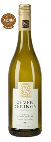 Unoaked Chardonnay 2012